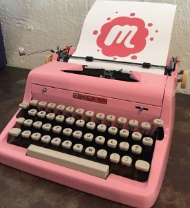 Royal Pink Typewriter