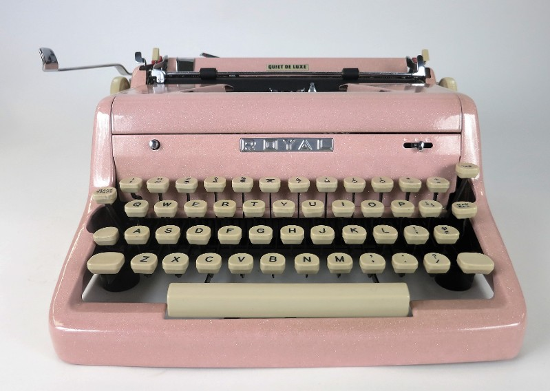 Royal Pink Typewriters