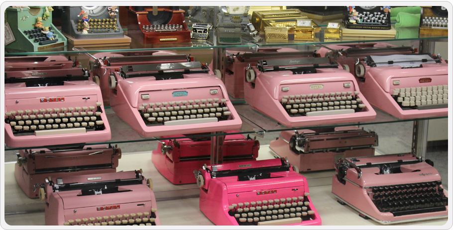 Pink Typewriters