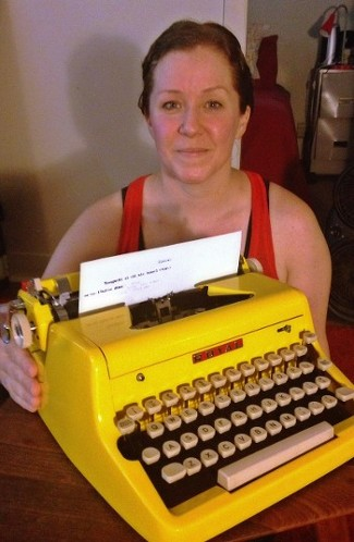 Royal Typewriter Yellow