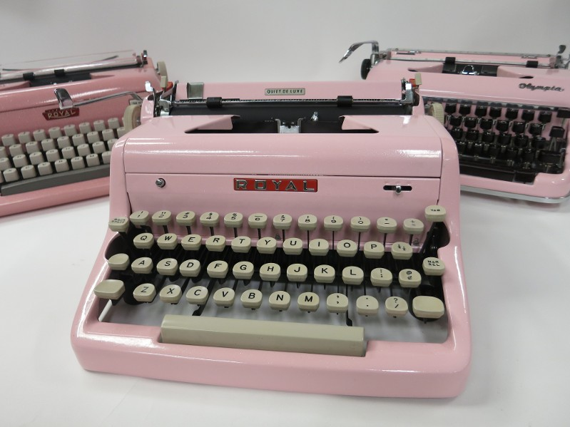 Three Royal Typewriters