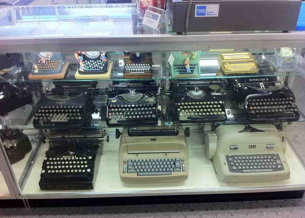 Typewriters in Case
