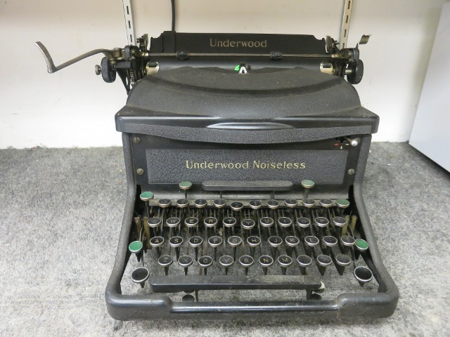 Underwood Noiseless Before